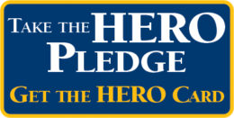 take pledge-get card