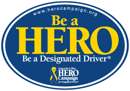 Highway heroes challenge hero campaign for Designated driver service business plan
